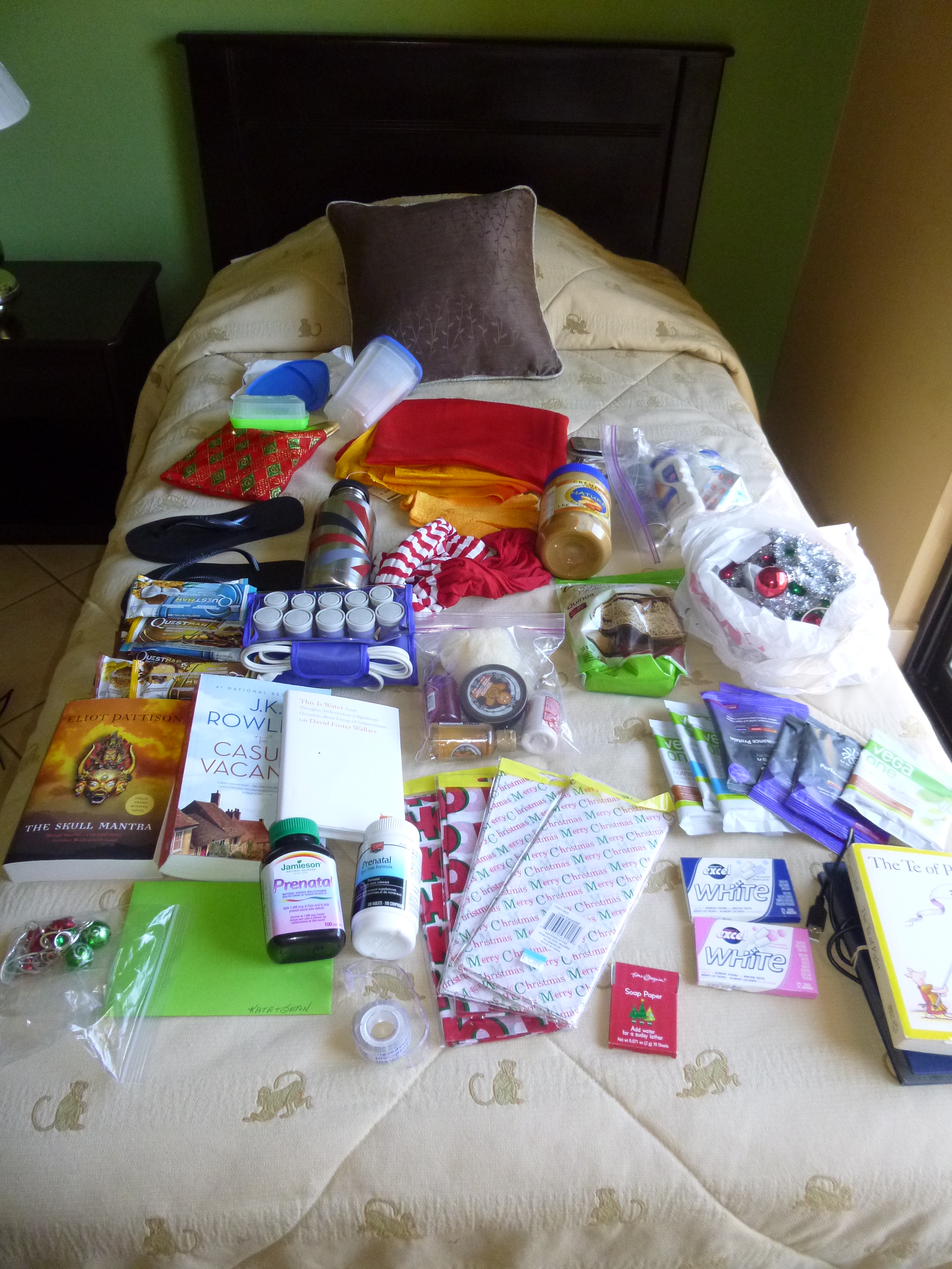 My Christmas Haul- Gifts from Canada to Costa Rica | Hostels and Hot ...