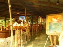 The restaurant/bar.