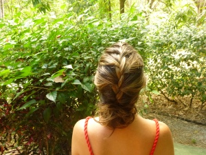 Highlights always look better in a french braid