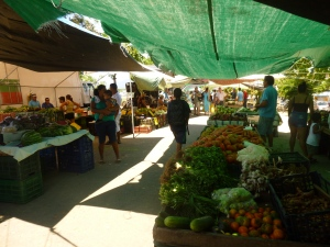 The farmer's market in Quepos