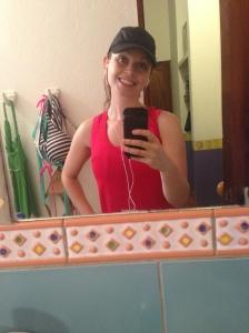 Pre run smiles!