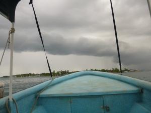 Those look like pretty rainy clouds overhead!