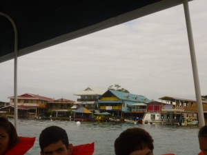 Bocas Town from the water