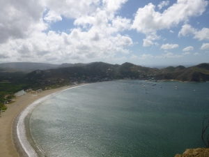The beach of San Juan del Sur