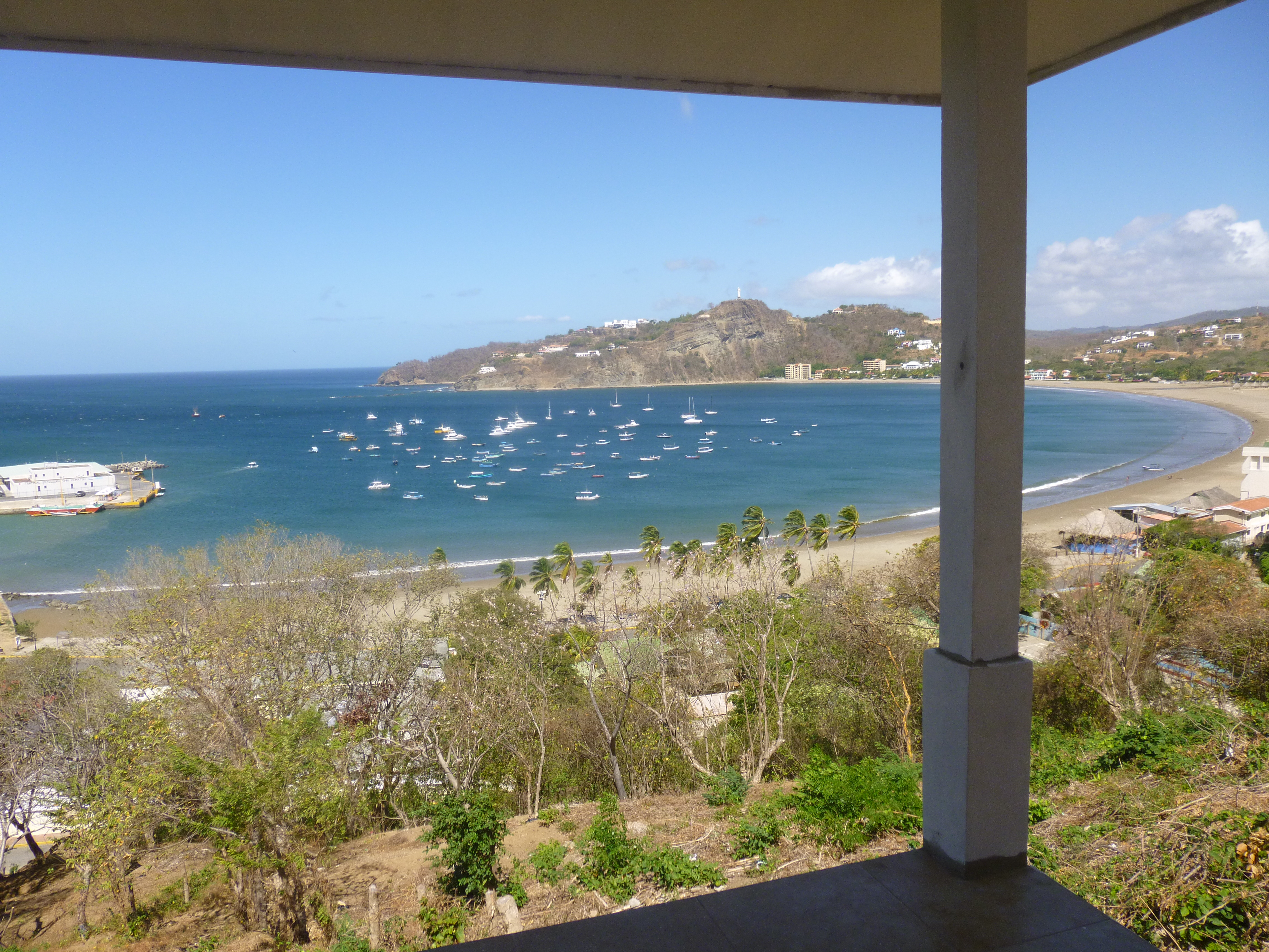The AMAZING view! & 5 Tips for Building a House in Nicaragua | Hostels and Hot Rollers