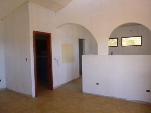 Part of the interior- bathroom, and bedroom around the corner