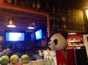 The infamous Panda head!
