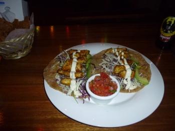 Chicken Taco's, Green Papaya, Tamarindo