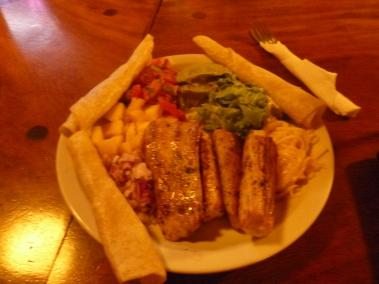 Fish Taco, Kaya Sol, Nosara