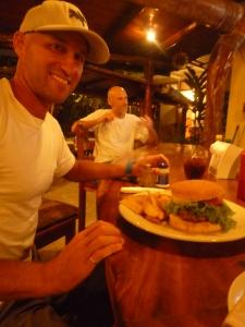 The Burger at Kaya Sol