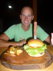 The Burger at Burger  and Beer